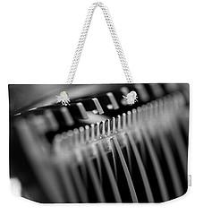 Abstract Razor Weekender Tote Bag