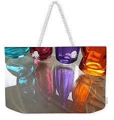 Abstract Reflections #4 Weekender Tote Bag by Robyn King