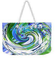 Abstract Reflections Digital Art #3 Weekender Tote Bag