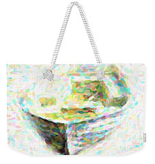 Abstract Rowboat Weekender Tote Bag