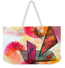 Abstract Shapes Weekender Tote Bag