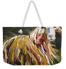 Abstract Sheep Weekender Tote Bag
