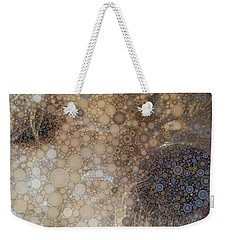 Abstract Study Of The Nose Of The Bichon Frise Weekender Tote Bag by Susan Maxwell Schmidt