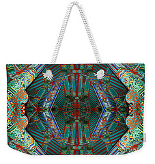 abstract surrealism photography - Beam Me Up IV Weekender Tote Bag
