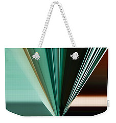 Abstract - Teal - Aqua - Five Weekender Tote Bag