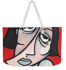 Abstract  Weekender Tote Bag by Thomas Valentine