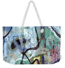 abstract urban art - Paint Your Mountain Weekender Tote Bag