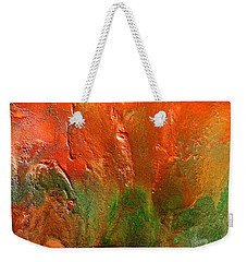 Abstract Vintage Landscape  Weekender Tote Bag