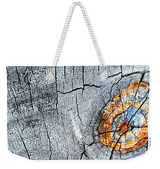 Abstract Woodgrain Upclose 6 Weekender Tote Bag