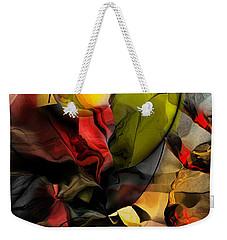 Abstraction 122614 Weekender Tote Bag by David Lane
