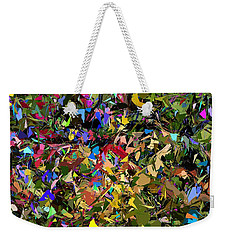 Abstraction 2 0211315 Weekender Tote Bag by David Lane