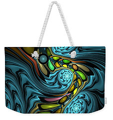 Abstraction 254-06-13 Marucii Weekender Tote Bag