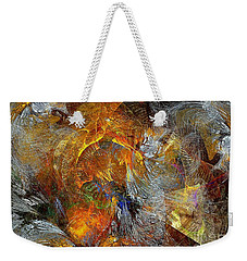 Abstraction 435-08-13  Marucii Weekender Tote Bag