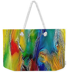 Abstraction 591-11-13 Marucii Weekender Tote Bag