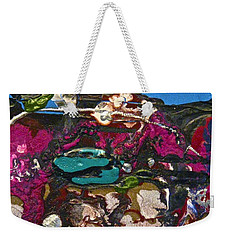 Abstracts 14 - Seascapes Weekender Tote Bag by Mario Perron
