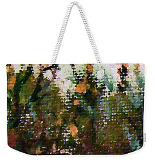 Abstrakt In Grun Weekender Tote Bag