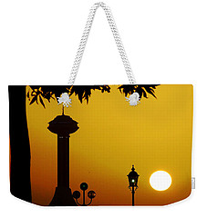 Weekender Tote Bag featuring the photograph Abu Dhabi by Andrea Anderegg