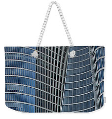 Weekender Tote Bag featuring the photograph Abu Dhabi Investment Authority by Steven Richman