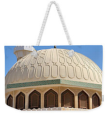 Weekender Tote Bag featuring the photograph Abu Dhabi Mosque by Steven Richman