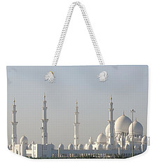 Weekender Tote Bag featuring the photograph Abu Dhabi Sheikh Zayed Grand Mosque by Steven Richman