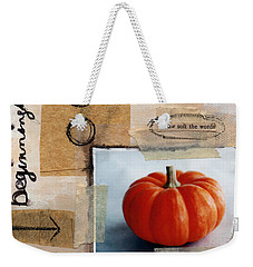 Abundance Weekender Tote Bag by Linda Woods