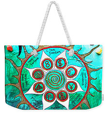 Abundance Money Magnet - Healing Art Weekender Tote Bag