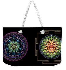 Abundance  Prosperity Weekender Tote Bag by Keiko Katsuta