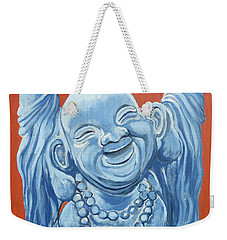 Weekender Tote Bag featuring the painting Abundance by Tom Roderick