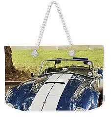 Weekender Tote Bag featuring the photograph Ac Cobra by Maj Seda