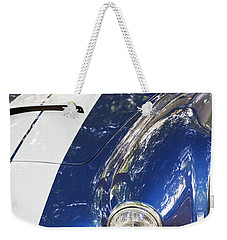 Weekender Tote Bag featuring the photograph Ac Cobra Shelby by Maj Seda
