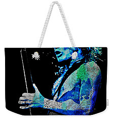 Ac/dc - Angus Young Weekender Tote Bag by Absinthe Art By Michelle LeAnn Scott