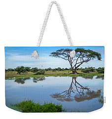 Acacia Tree Weekender Tote Bag