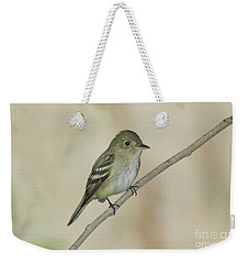 Acadian Flycatcher Weekender Tote Bag by Anthony Mercieca