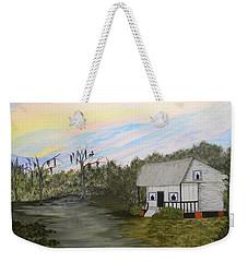 Acadian Home On The Bayou Weekender Tote Bag