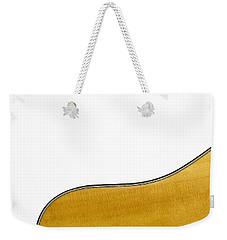 Acoustic Curve Weekender Tote Bag
