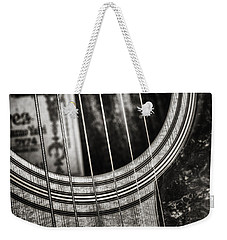 Acoustically Speaking Weekender Tote Bag