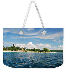 Across The Bay To The Light Weekender Tote Bag