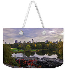 Across The Pond 2 - Central Park - Nyc Weekender Tote Bag