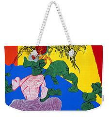 Acrylic Dancer Weekender Tote Bag