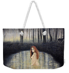 Actaeon And Artemis Weekender Tote Bag