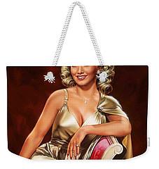 Actress Carole Landis Weekender Tote Bag