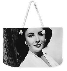 Actress Elizabeth Taylor Weekender Tote Bag