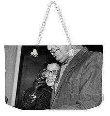 Adam Clayton Powell Retires Weekender Tote Bag by Underwood Archives