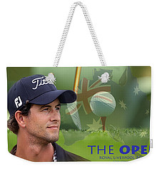 Adam Scott Weekender Tote Bag by Spikey Mouse Photography