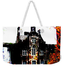 Weekender Tote Bag featuring the photograph Adare Manor by Charlie and Norma Brock