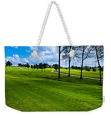 Addressing The Ball  Weekender Tote Bag