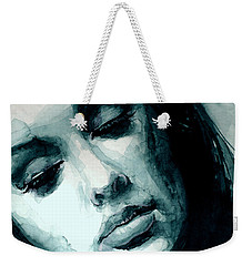 Adele In Watercolor Weekender Tote Bag by Laur Iduc