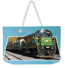 Adirondack Railroad Weekender Tote Bag by Mariarosa Rockefeller
