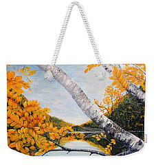 Adirondacks New York Weekender Tote Bag