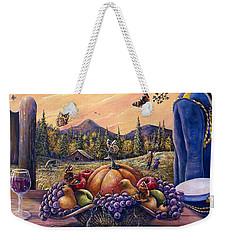 Admirals Harvest Weekender Tote Bag by Gail Butler